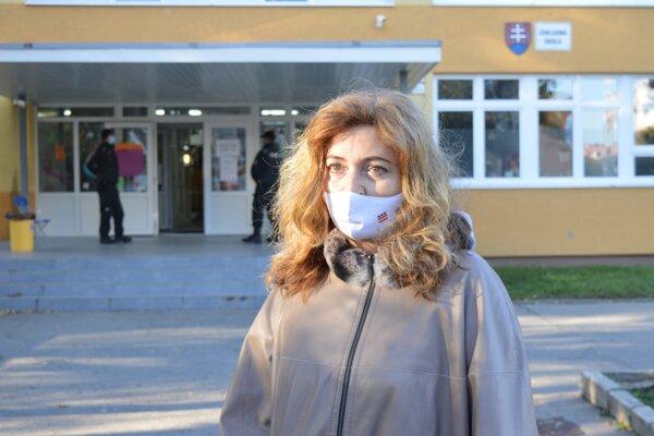 Primátorka mesta Prešov Andrea Turčanová (KDH).