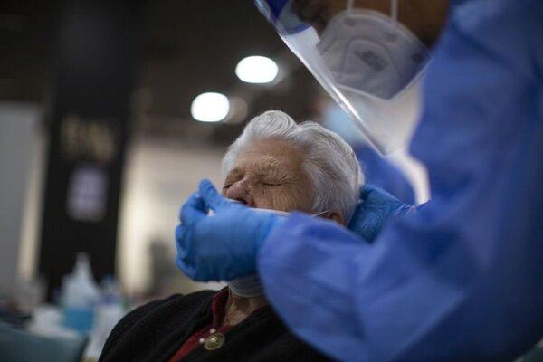 Vyšetrenie antigénovým testom.