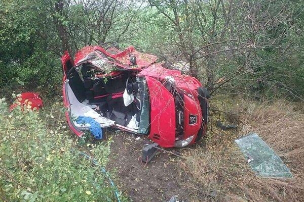 Dnešná tragická dopravná nehoda medzi Levicami a Starým Hrádkom.