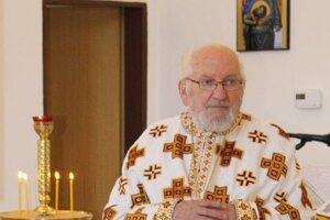 Ján Lakata, duchovný správca pravoslávnej cirkevnej obce vBardejove.