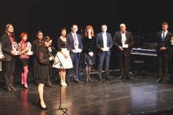 Čerství držitelia ocenení Šľachetné srdce 2014.