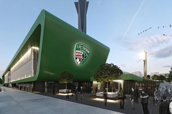 Takto má vyzerať nový štadión v Prešove - Futbal Tatran Aréna.