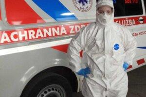 Anna Kmecová je súčasťou záchranného koronatímu. Archív A.K.