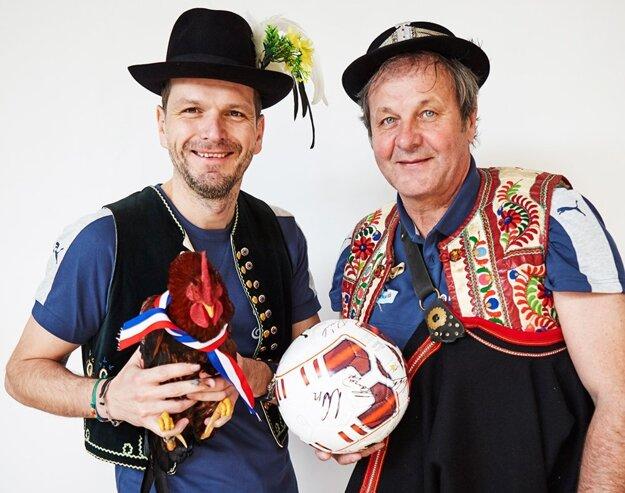 Štefan Tarkovič a Ján Kozák starší.