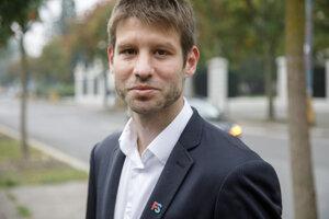 Europoslanec a podpredseda Progresívneho Slovenska (PS) Michal Šimečka.