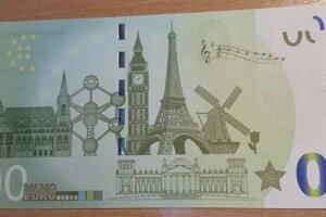 Nulová bankovka.