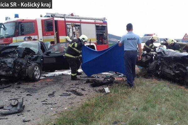 Jedna z tragických nehôd v Košickom kraji.