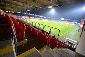 Pohľad na štadión.