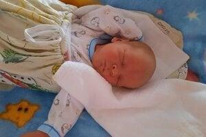 Lukáš Gorelka (3770 g,51 cm) sa narodil 26. októbra Stanke a Petrovi z Kvašova.
