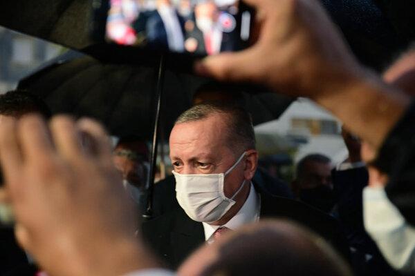 Turecký prezident EErdogan.