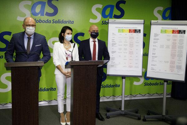 SaS predstavila pandemický plán.