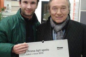 Jan Baláž s Karlom Gottom.