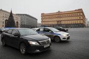 Sídlo hlavnej budovy Federálnej bezpečnostnej služby Ruskej federácie (FSB) v Moskve na archívnej snímke z decembra 2016.