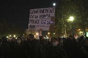 Francúzi proti novému návrhu zákona o bezpečnosti protestujú.