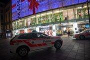 Žena útočila v nákupnom centre v meste Lugano.