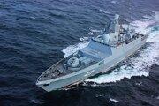 Fregata triedy Admiral Gorškov.