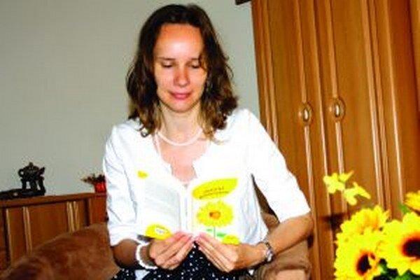 Andrea Boldišová so svojou novinkou.
