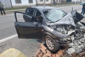 Vážna dopravná nehoda v Šaštín Strážach si vyžiadala už dve obete.