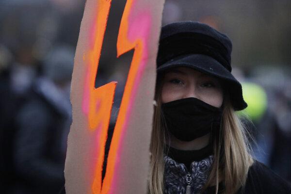 Poliaci opäť protestovali.