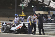 Hrôzostrašná nehoda Romaina Grosjeana.