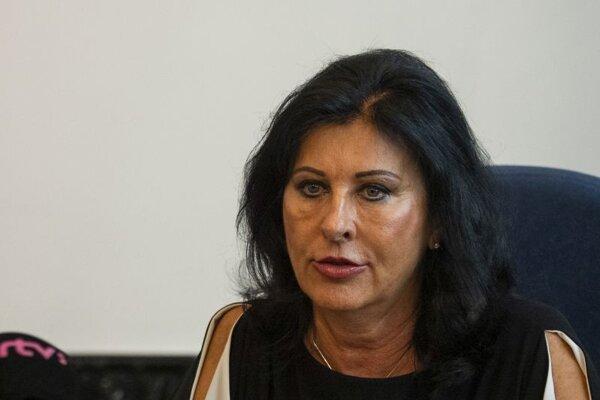 Viera Kováčiková, námestníčka generálneho prokurátora SR.