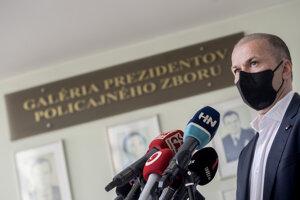 Dočasne poverený šéf polície Peter Kovařík.