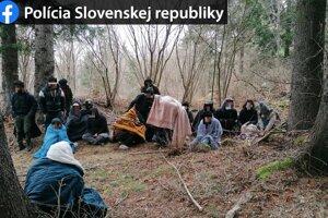 Utečenci zo Sýrie v Hornej Štubni.