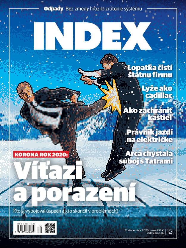 Tému o víťazoch a porazených roka 2020 nájdete v decembrovom mesačníku INDEX.
