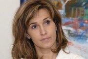 Jaroslava Feketeová. Snímka je z čias, keď pôsobila ako lekárka na Oddelení detskej onkológie a hematológie košickej DFN.