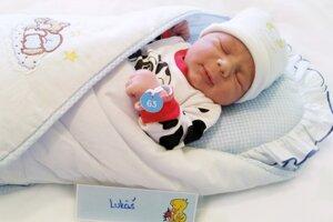Lukáš Mojžiš z Handlovej sa narodil 15. novembra v Bojniciach