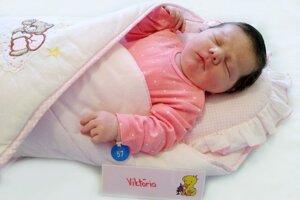 Viktória Šurmanová z Kanianky sa narodila 16. novembra v Bojniciach