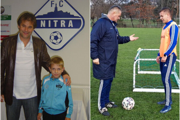 V októbri 2009 bol Tancik rád, že má Galáda (na fotke z autogramiády). V decembri 2020 bol zas Galád rád, že má Tancika (na ihrisku pri góle na 1:1).