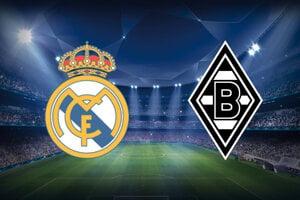 Sledujte futbal Real Madrid - Borussia Mönchengladbach, Liga majstrov LIVE stream dnes.