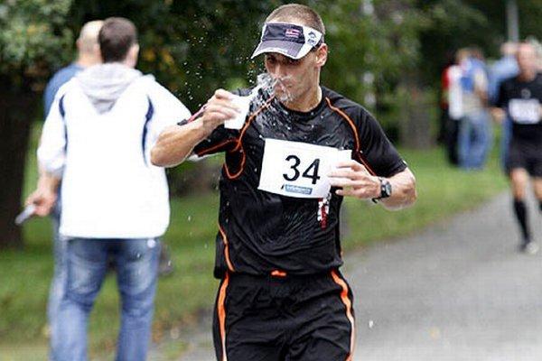 Nitran Michal Kulich bol celkovo druhý na polmaratóne.