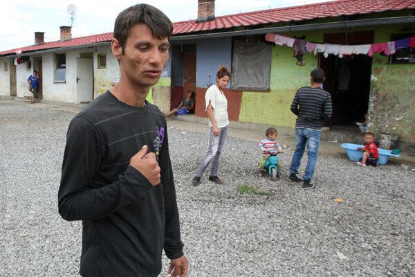 Milan Igor Hudák je jednou z obetí policajnej razie v Moldave nad Bodvou.