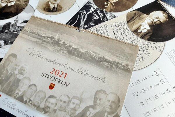 V kalendári Stropkova na rok 2021 je možné nájsť aj maliara Františka Veselého či Františka Ferdinanda d'Este.