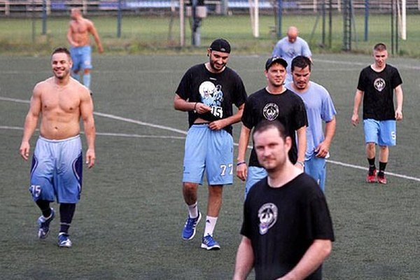 Rytieri odštartovali prípravu. V prvý týždeň si aj dvakrát zahrali futbal.
