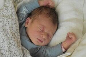 Mia Exlerová (3290 g, 49 cm) sa narodila 7. decembra Lenke a Michalovi z Bánoviec nad Bebravou.