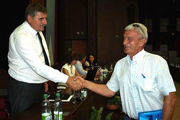 Štefan Štefek (vľavo) a Miroslav Moravský, nový člen predstavenstva.
