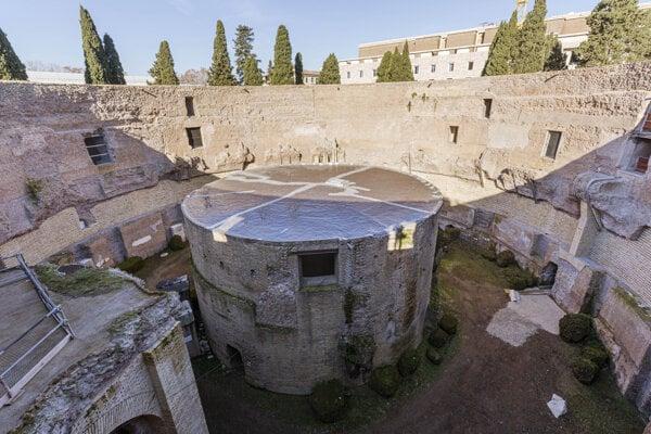 Mauzóleum prvého rímskeho cisára Augusta.
