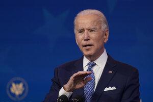 Novozvolený americký prezident Joe Biden.