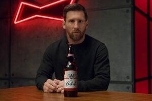 Lionel Messi v kampani pre Budweiser.