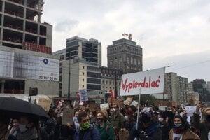 Protest pred sídlom Ordo Iuris.