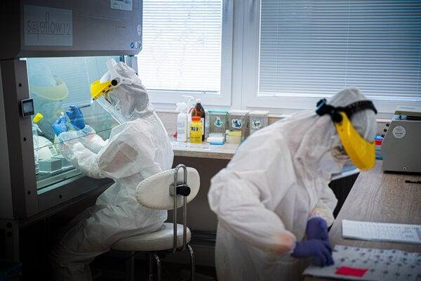 Laboratórium Alpha medical v Ružomberku.