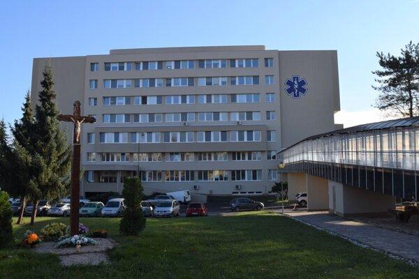 Nemocnica v Lučenci.