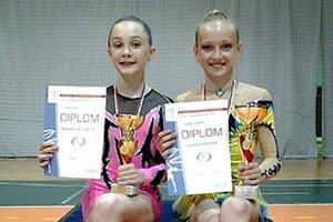 Na stupne víťazov sa dostali aj A. Bútorová a L. Križanová.
