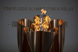 Olympijský oheň sa prvýkrát rozhorel vo Fukušime ešte 24. marca 2020. Hry neskôr o rok presunuli.