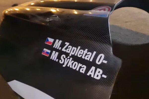 Čech Miroslav Zapletal a slovenský navigátor Marek Sýkora - ilustračná fotografia.