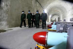 Podzemná raketová základňa iránskych revolučných gárd.