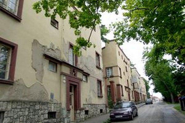 Domy na Misionárskej ulici sú kultúrnou pamiatkou.